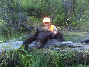 First Bear, Mia Anstine, September 18, 2010