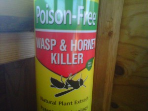 Wasp spray