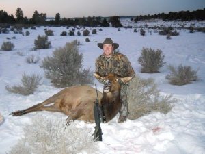 First elk harvest.