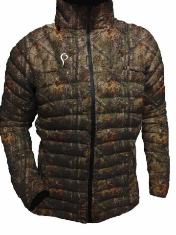 The New Archtach Down Jacket by Prois!  Available in APX, Advantage Max1, Mountain Mimicry and Black!