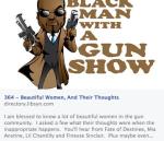 Beautiful women and guns on Black Man with a Gun Radio