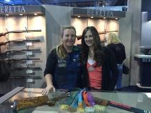 Olympian-Kim-Rhode-with-teen-Lea-Leggitt-at-Beretta-USA-by-Anstine