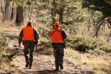 Colorado's big-game rifle seasons start Oct. 15 and continue through Nov. 20. Colorado Parks and Wildlife urges hunters to be careful in the field.