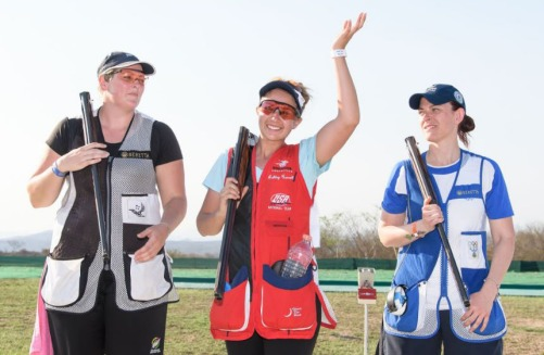 Carroll wins gold at world cup first of career mia 39 s for Fly fishing team usa